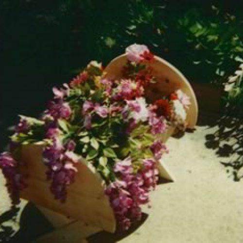 Adorable Cradle Planter